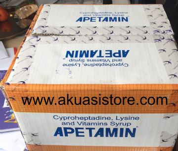 APETAMIN SYRUP - (25 Bottles) WHOLSALE